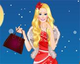 Барби рождественский стиль