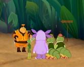 Лунтик и его друзья 6 сезон 366 серия смотреть онлайн - Хитрые гусеницы