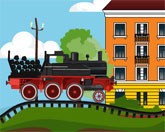 угольный поезд