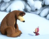 Маша и Медведь 6 серия – Следы невиданных зверей