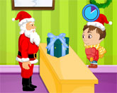 Раздача подарков
