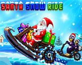 снежная гонка Санты