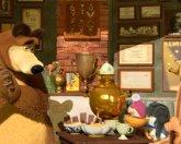 Маша и Медведь 32 серия – Когда все дома