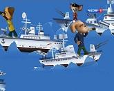 Барбоскины 95 серия — Морской бой смотреть онлайн