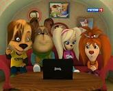 Барбоскины 104 серия — Конкурс приколов смотреть онлайн