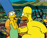 Гомер спасает Мардж