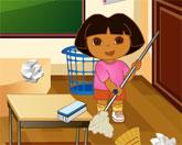Даша уборка в классе