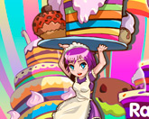 Радужные торты