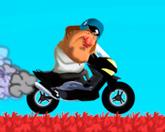 Жерар Депардье на скутере