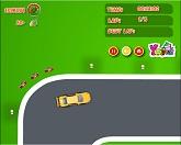 Быстрая гонка на автомобилях