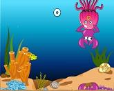 Веселая маленькая рыбка
