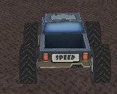 3D монстр на колесах