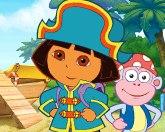 Даша на пиратском корабле