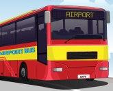 Парковка автобуса в аэропорту