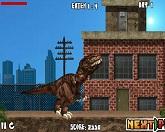 Динозавр Рэкс в Нью - Йоркском парке