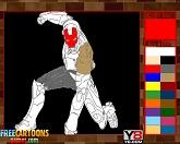 Железный человек: раскраска 3