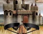 Арбалет на осаде замка