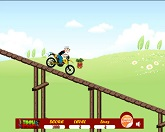 Папай на мотоцикле