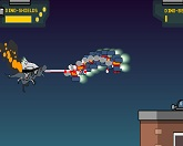Динозавр робот стрелок из лазера