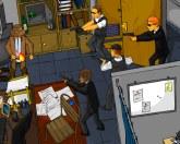 Разборка в офисе
