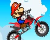 Марио акробат на мотоцикле