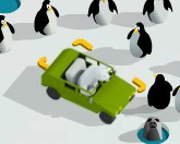Парковка полярного медведя