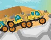 Тракторы в пустыне