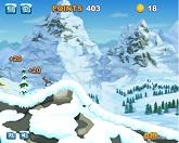 Сноуборд и трюк под лавиной