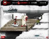Белый медведь защитник
