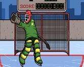 Хокей: удары по воротам