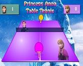 Настольный теннис принцессы