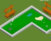 Мини гольф на природе