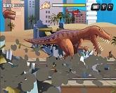 Гонщик против динозавра