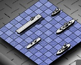 Морской бой: квартет генералов