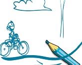 Эскизный велосипед