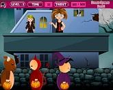 Детская площадка Хэллоуин