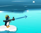 Пингвин скользит