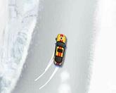 Дрифт на снегу