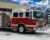 Пожарники зимой