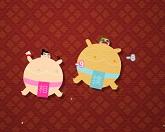 Голодный борец сумо