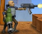 Кочевник с оружием