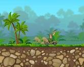 Джип в диких джунглях