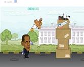 Президенты. Уличная драка