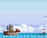 Боевой супер корабль
