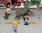 Зомби на улицах