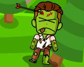 Лучник против зомби