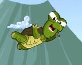 Черепаха в воздухе