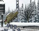 Атака зимнего танка