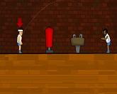 Необычный баскетбол