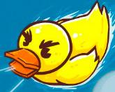 Сражение утки в ванной